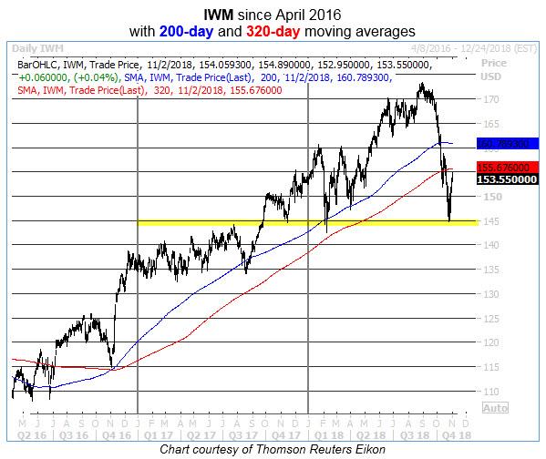 iwm daily chart 1102