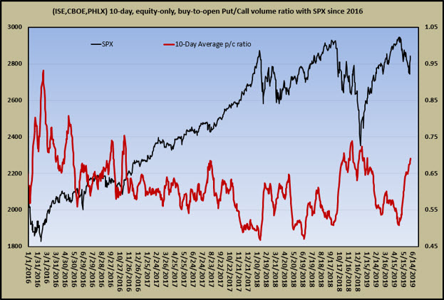 10-day equity put-call ratio spike 0607