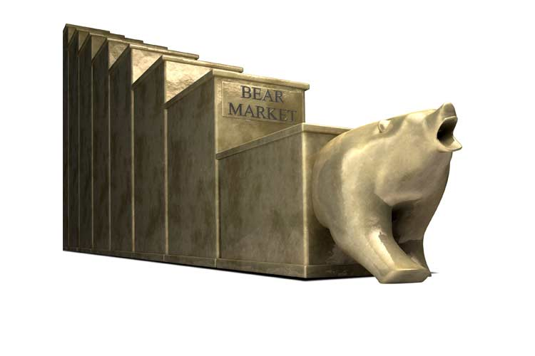 The end of a bear stock market