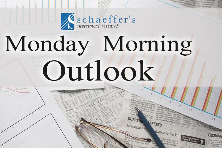 Schaeffer's Monday Morning Outlook ezine