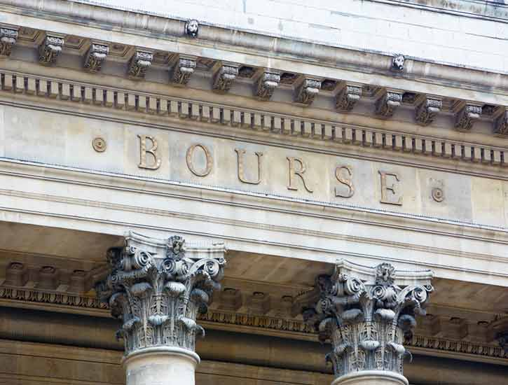 Paris Stock Exchange Exterior