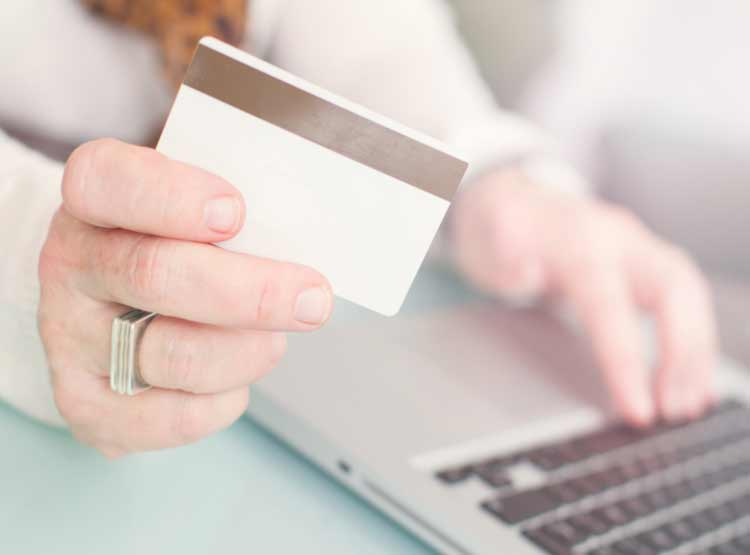 Online shopping and the US stock market