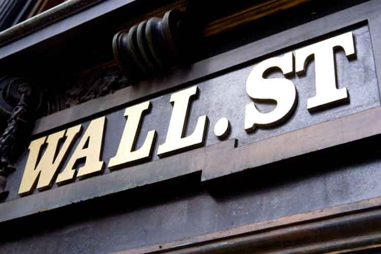 Wall Street Stock Market Sign