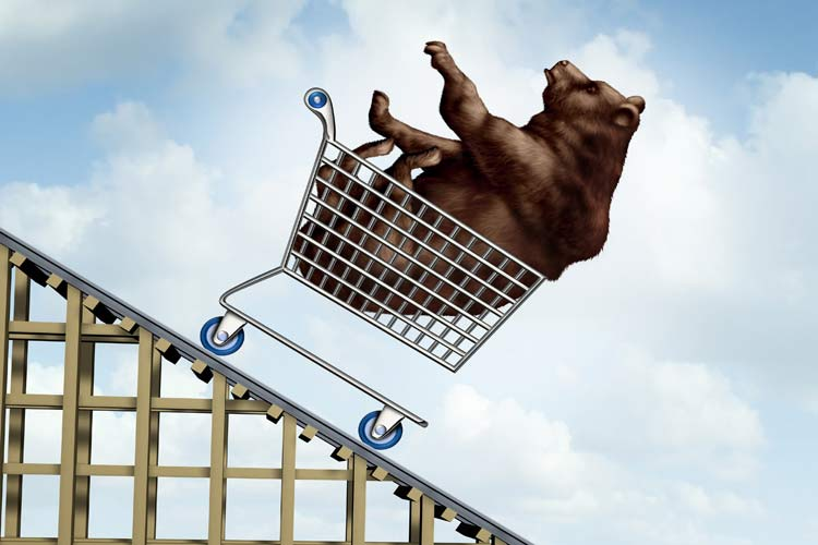 Volatility and a bear market